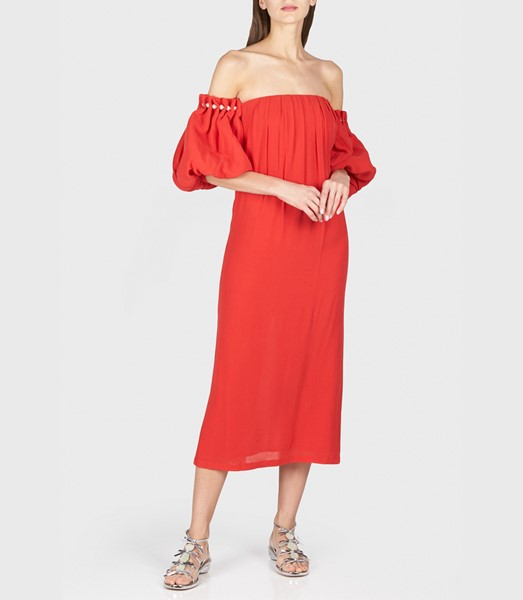Picture of Freida Off-Shoulder Dress, Picture 1