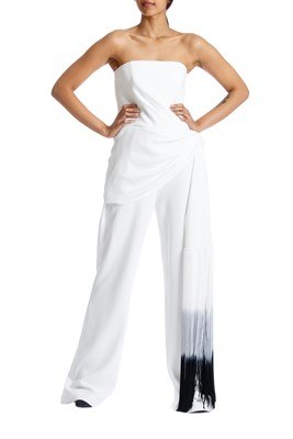 Picture of ALBAIRATE JUMPSUIT WHITE