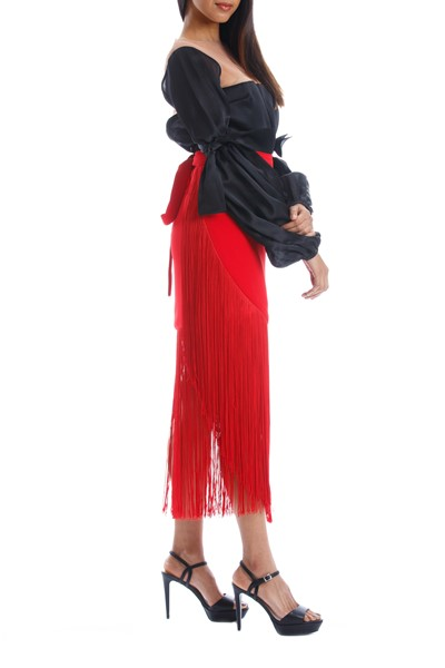 Picture of COSTOMAR SKIRT RED, Picture 2