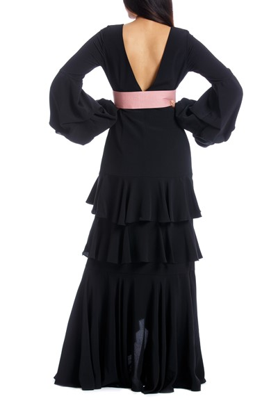 Picture of PIMIENTA DRESS BLACK WITH PINK, Picture 7