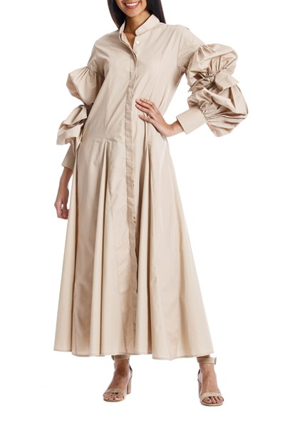 Picture of QUERENCIA DRESS KHAKI, Picture 1