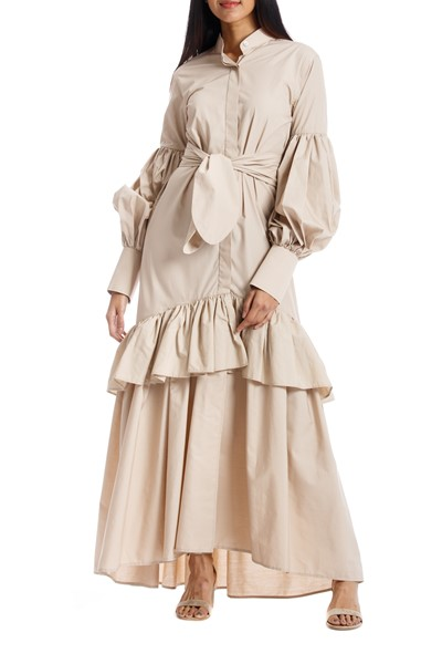 Picture of AMADA DRESS KHAKI, Picture 1