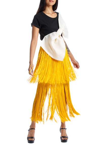 Picture of SOL SKIRT YELLOW, Picture 2