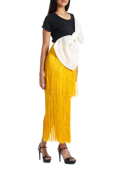 Picture of SOL SKIRT YELLOW, Picture 4