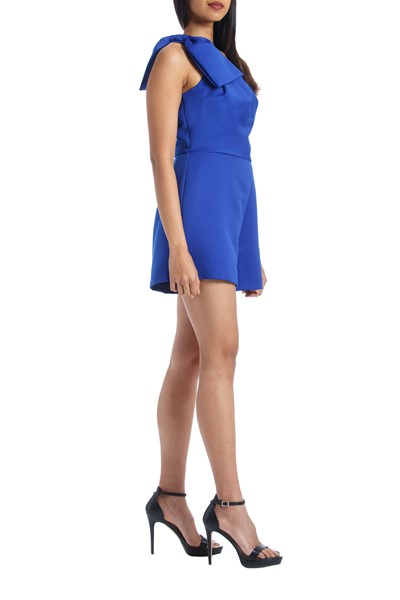 Picture of TANY  ONE SHOULDER ROMPER WITH OVER SKIRT, Picture 4