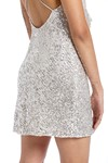 Picture of BALDWIN SEQUIN MINI DRESS