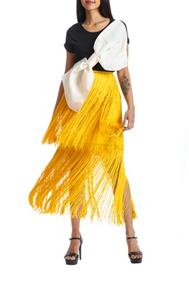 Picture of SOL SKIRT YELLOW