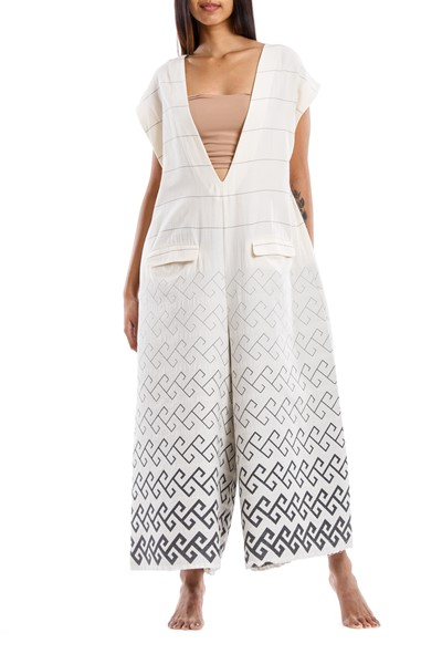 Picture of IASON JUMPSUIT GREY MEANDER, Picture 2
