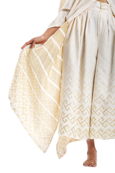 Picture of LIGEIA PANT GOLD MEANDER, Picture 3