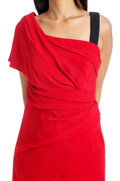 Picture of ONE SHOULDER DRAPE DRESS , Picture 3