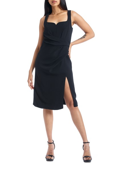 Picture of WRAP DRAPED DRESS, Picture 1
