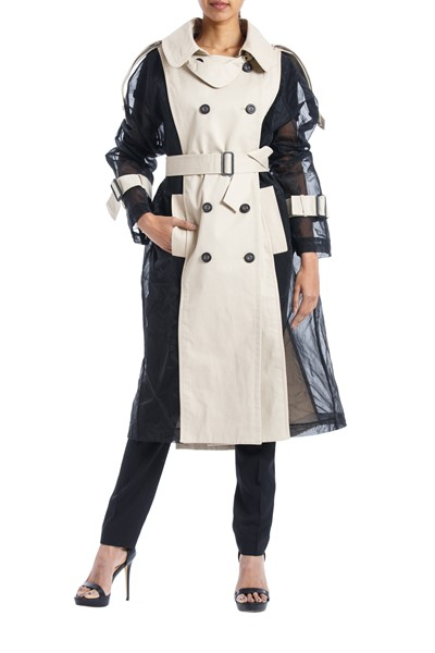 Picture of Bi color Trench Coat , Picture 1