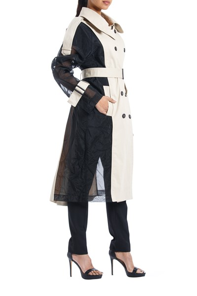 Picture of Bi color Trench Coat , Picture 2