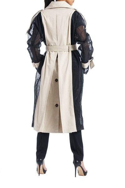 Picture of Bi color Trench Coat , Picture 4