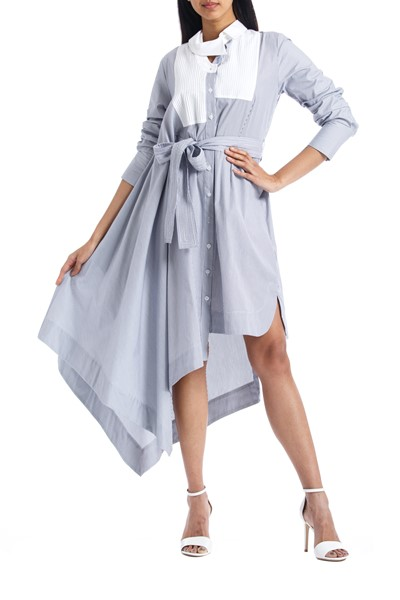 Picture of Asymmetric Shirt Dress , Picture 1