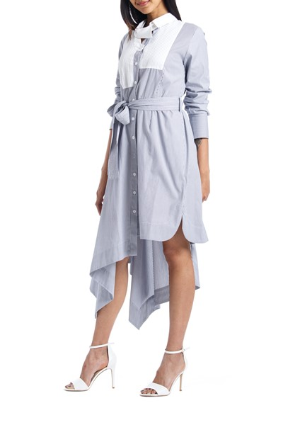 Picture of Asymmetric Shirt Dress , Picture 2