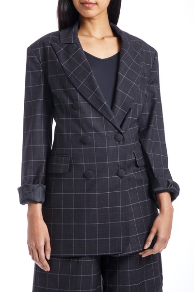Picture of Double Breast Oversized Blazer , Picture 1