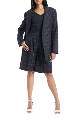 Picture of Bermuda Checks Wool Shorts