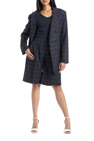 Picture of Bermuda Checks Wool Shorts, Picture 1