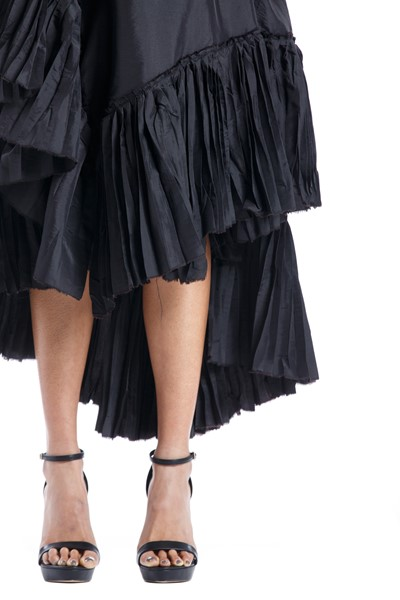 Picture of Asymmetric Wrap pleated Skirt , Picture 3