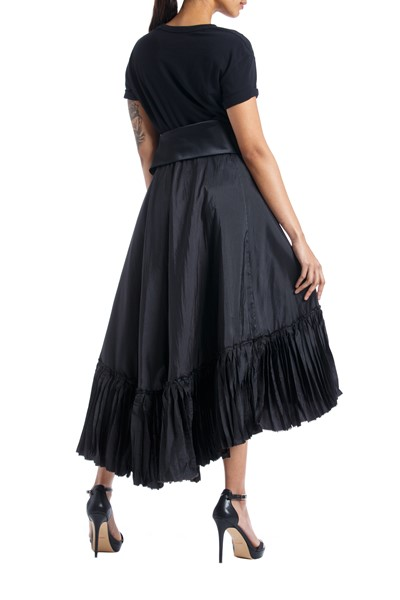 Picture of Asymmetric Wrap pleated Skirt , Picture 4