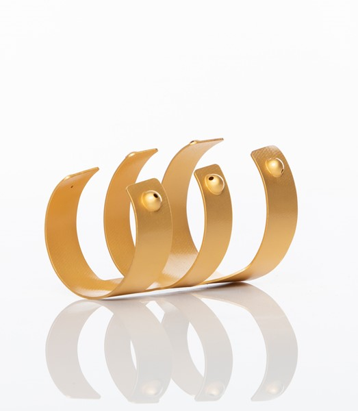 Picture of Wounam Gold-Plated Brass Cuff Bracelet, Picture 7
