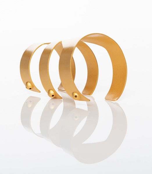 Picture of Wounam Gold-Plated Brass Cuff Bracelet, Picture 6
