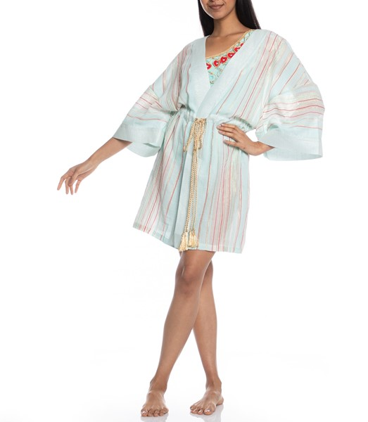 Picture of SHORT KAFTAN STRIPED FABRIC, Picture 3
