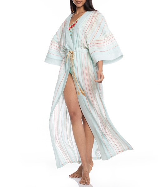 Picture of LONG KAFTAN STRIPED FABRIC, Picture 2
