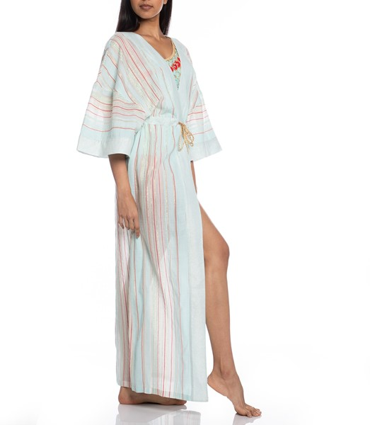 Picture of LONG KAFTAN STRIPED FABRIC, Picture 5