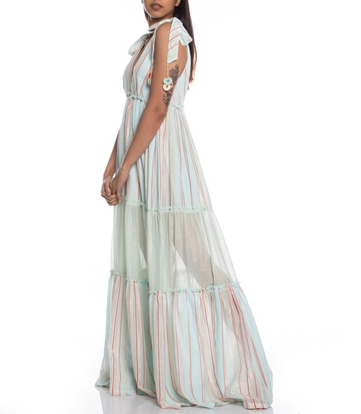 Picture of LONG DRESS STRIPED FABRIC	, Picture 4