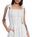 Picture of OVERALL DRESS STRIPED FABRIC