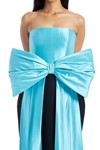 Picture of Bow Embellished Strapless Silk