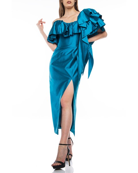 Picture of Long Dress Turquoise, Picture 1