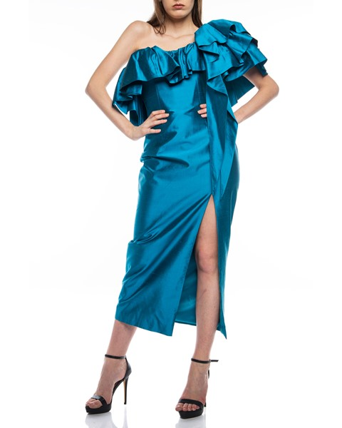 Picture of Long Dress Turquoise, Picture 2