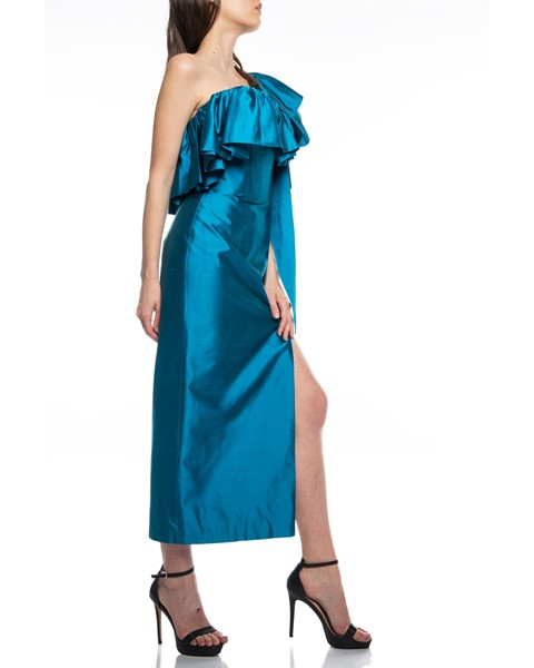 Picture of Long Dress Turquoise, Picture 4