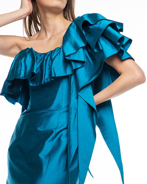 Picture of Long Dress Turquoise, Picture 5