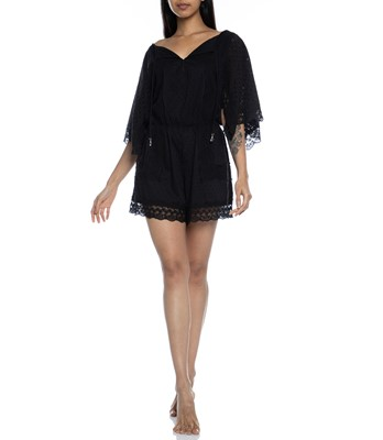 Picture of  Elati Playsuit Black