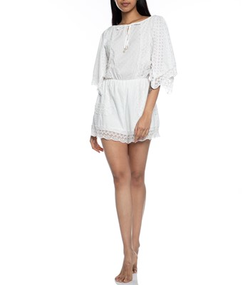 Picture of Elati Playsuit White