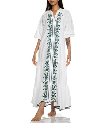Picture of VILLAYA LINEN MAXI DRESS