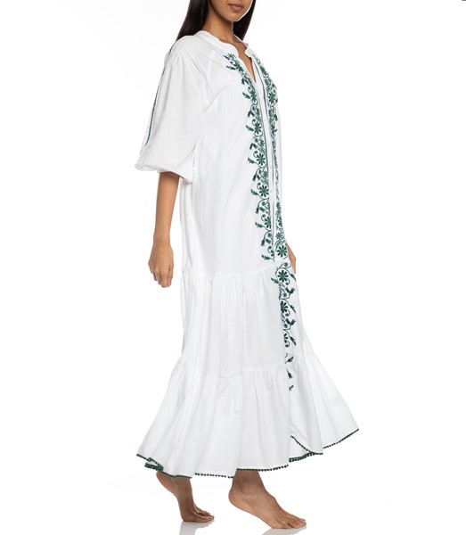 Picture of VILLAYA LINEN MAXI DRESS , Picture 3