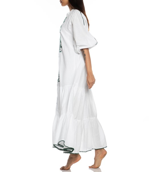 Picture of VILLAYA LINEN MAXI DRESS , Picture 4