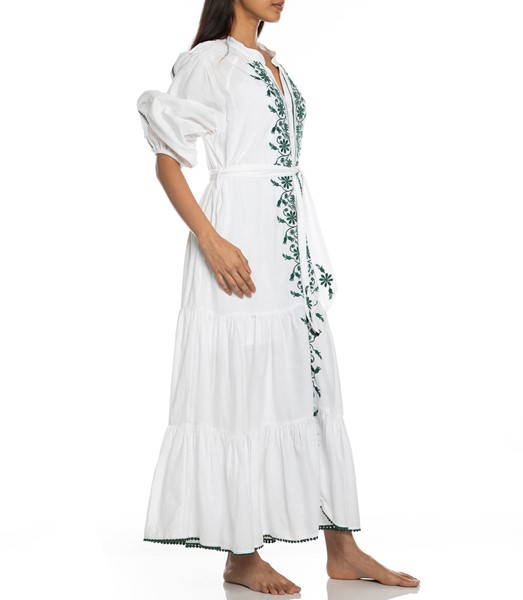 Picture of VILLAYA LINEN MAXI DRESS , Picture 6