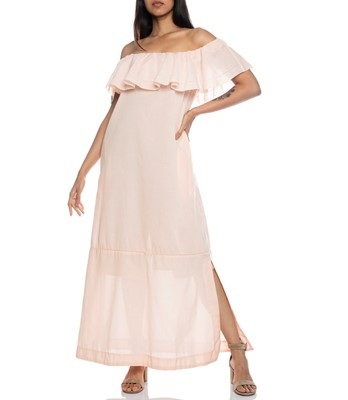 Picture of Mira Sheer flounce Dress