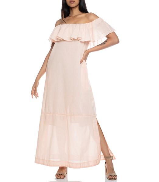 Picture of Mira Sheer flounce Dress, Picture 1