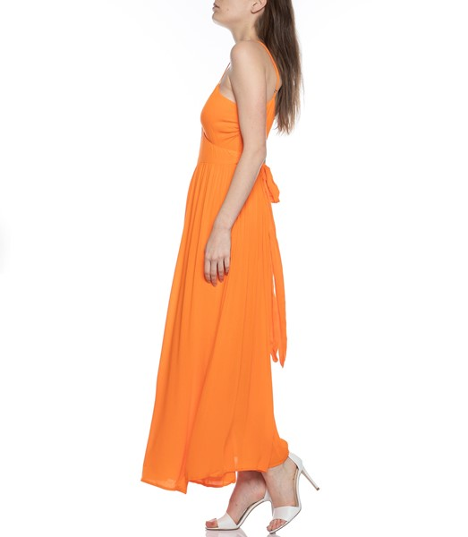 Picture of ALMA SLEEVELESS WRAP MAXI DRESS, Picture 3