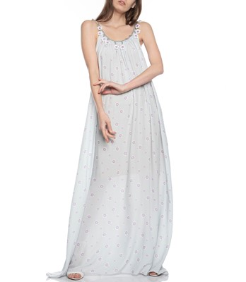 Picture of Maxi Dress with Flower Straps