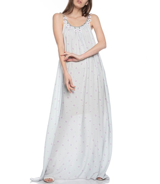 Picture of Maxi Dress with Flower Straps, Picture 1