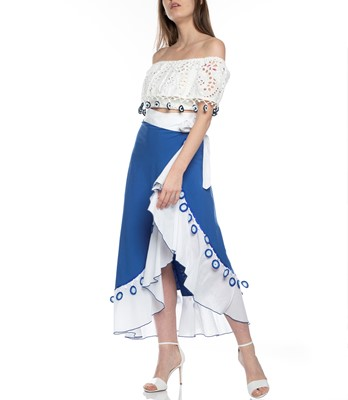 Picture of Maxi Wrap Skirt