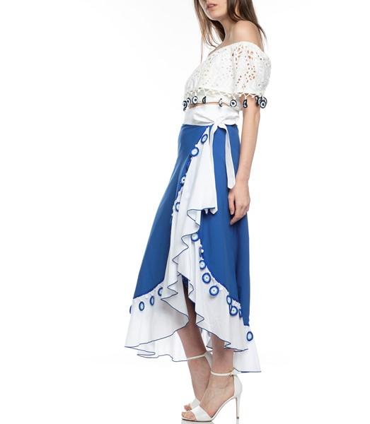 Picture of Maxi Wrap Skirt , Picture 5